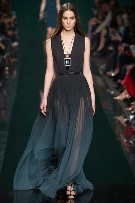 Elie Saab | Fall 2014 Ready-to-Wear #ParisFall2014 #PFWfall2014 #ElieSaab