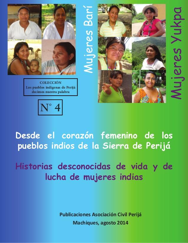 Desde el corazón femenino de los pueblos indios de Perijá