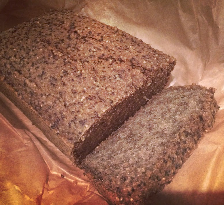 Healthy food guide how to make gluten free chia and quinoa bread forumfinder Images