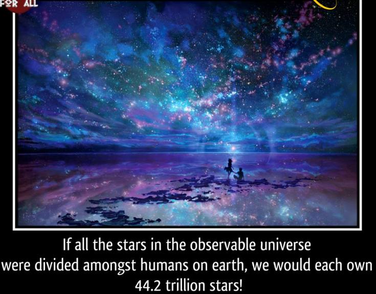 stars, universe, earth