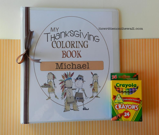 Freebie) Thanksgiving Day Activity For the Kids-Coloring Fun! title=