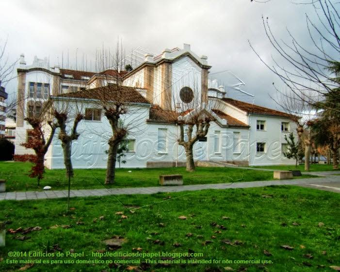 Antiguo Hospital de Benficencia, hoy Universidad de Ourense