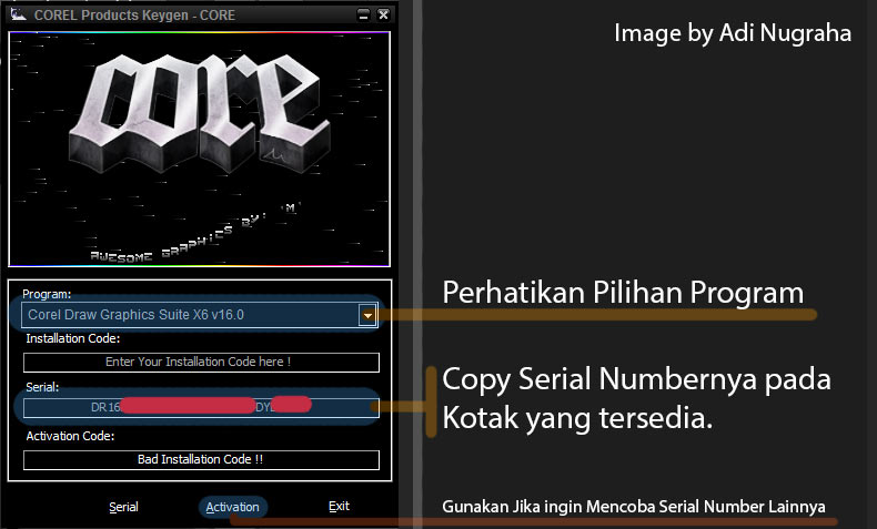 corel all products universal keygens by core
