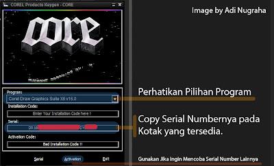 corel draw key generator x5