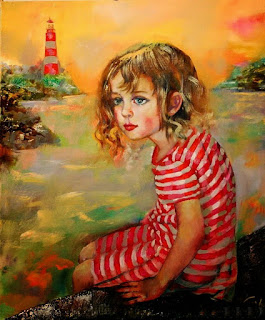 Retratos Infantiles Ninas Oleo