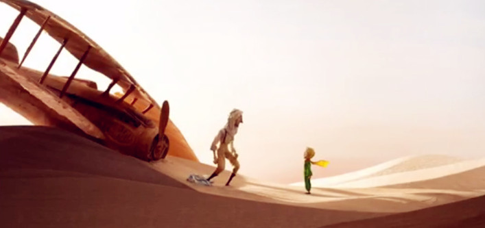 Sinopsis Film The Little Prince 2015 (James Franco, Rachel McAdams, Mackenzie Foy)