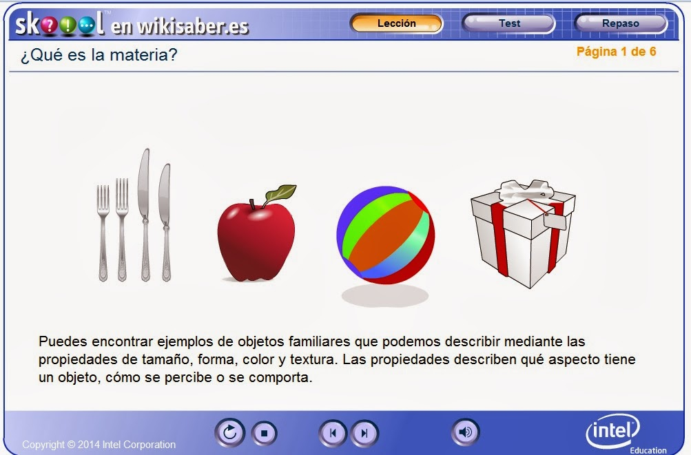 http://www.wikisaber.es/Contenidos/LObjects/what_is_matter/index.html