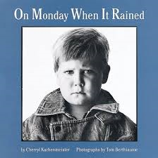 http://www.amazon.com/Monday-Rained-Houghton-Mifflin-Sandpiper/dp/0618111247/ref=la_B001KDNMMO_1_1?s=books&ie=UTF8&qid=1394321360&sr=1-1