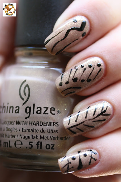 Hunger Games China Glaze Fast Track nails 3