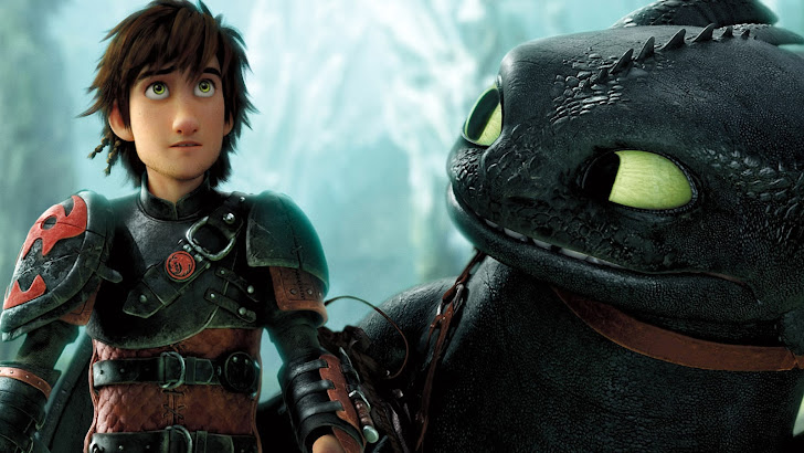 Hiccup and Toothless 2014