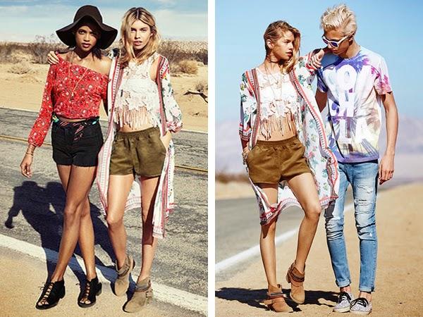 H&M Loves Coachella ropa y accesorios