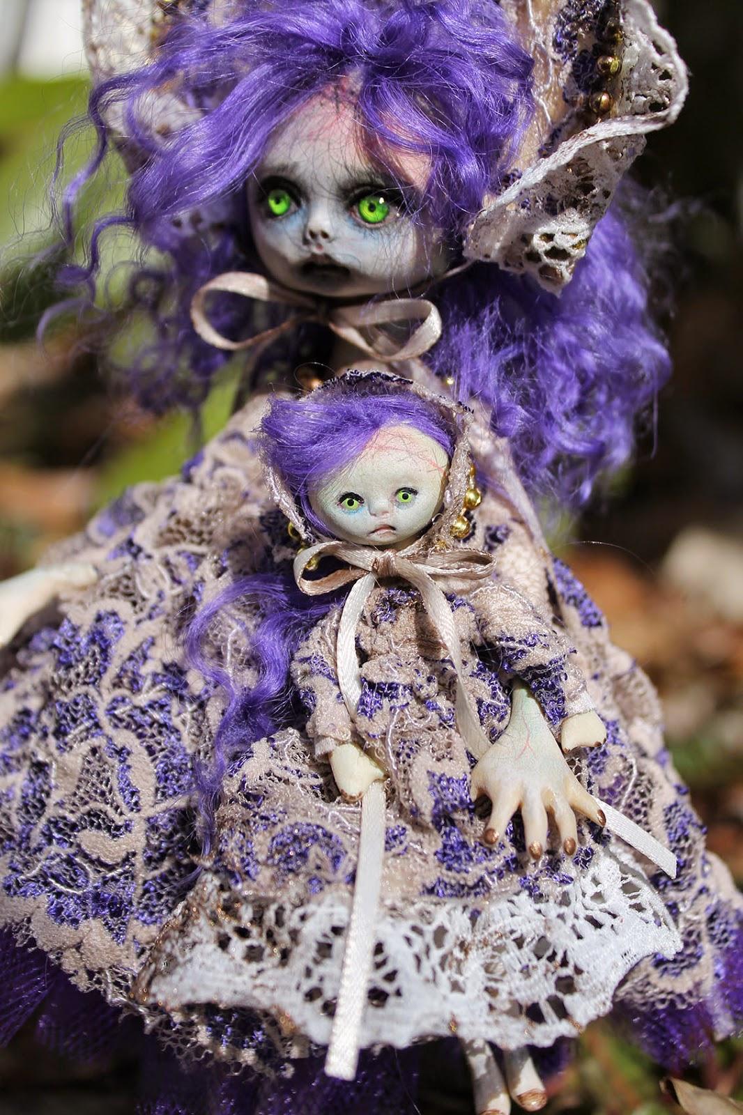 OOAK Art Doll Horror Monster Goth Fairy Tale Victorian