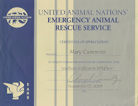 Mary Cummins, Animal Advocates, real estate appraiser, Los Angeles, California