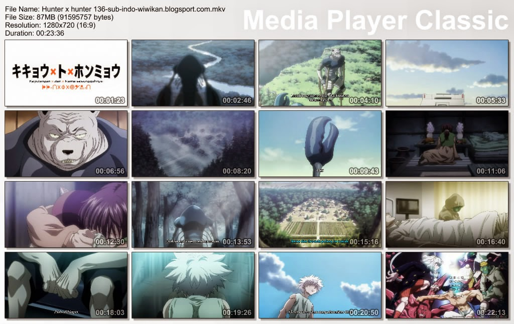 Video Hunter x Hunter Episode 136 Sub Indonesia ,Langsung saja di ...