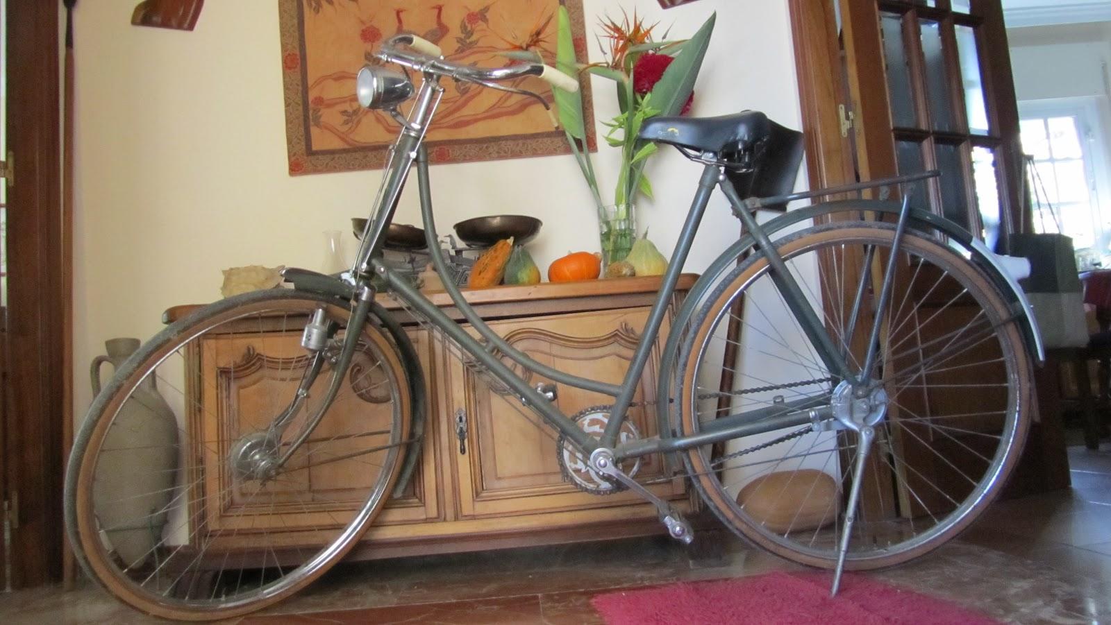 Nueva adquisicion gazelle rik rides restauracion de for Bicicletas antiguas nuevas