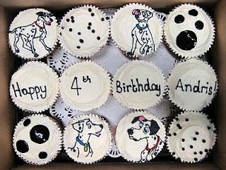 Cupcakes de Dalmatas