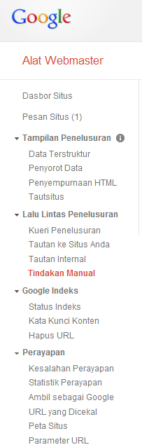 Teknik SEO Google dengan Google Webmaster Tools