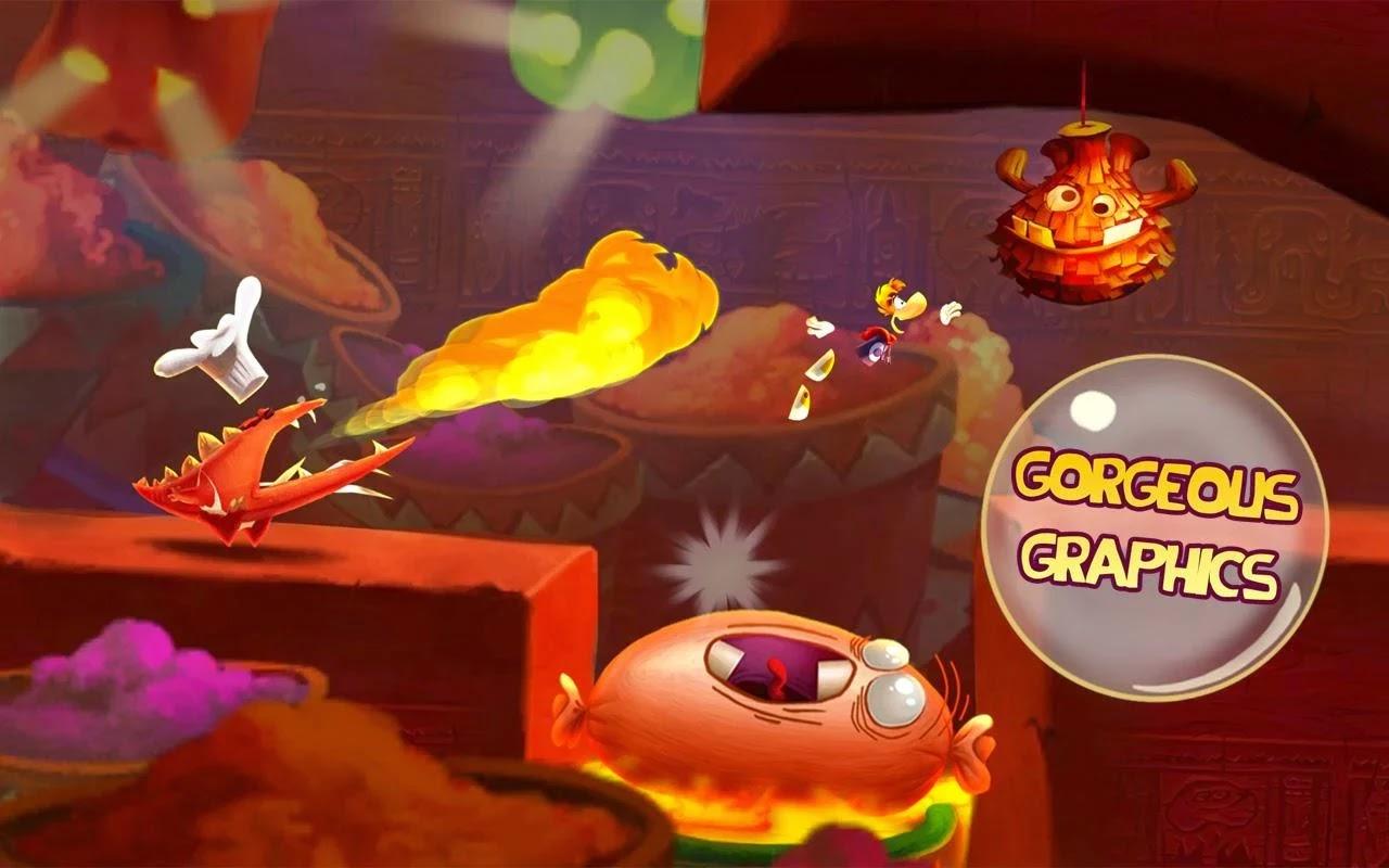Rayman Fiesta Run v1.2.5 Mod