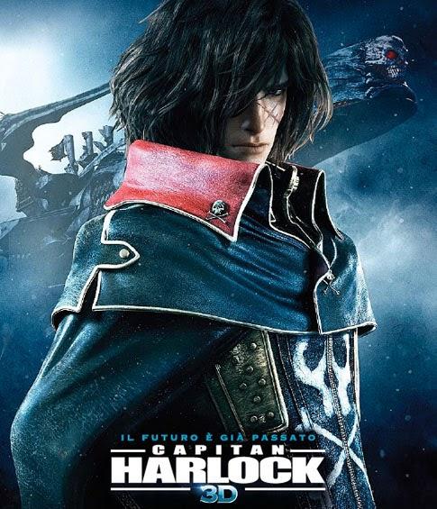Capitan Harlock film recensione