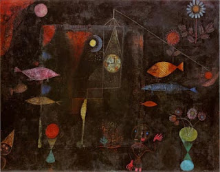 Paul Klee painting - Fish Magic