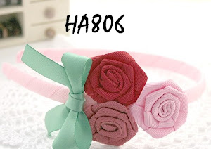 Three Colors Bow Hairband RM19 per piece