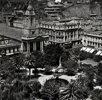 Iglesia del Espíritu, Plaza Victoria. 1923