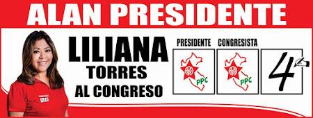 LILIANA TORRES AL CONGRESO