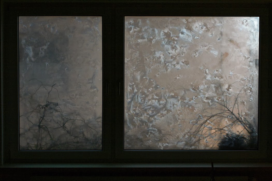 eisblumenspray eiskristall spray ice crystals frost f r fenster spiegel neu ovp ebay. Black Bedroom Furniture Sets. Home Design Ideas