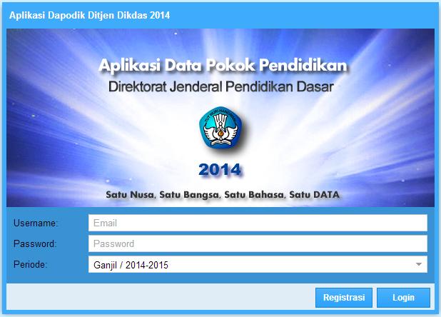 Yuk, Download Aplikasi Dapodikdas 3.00 20141