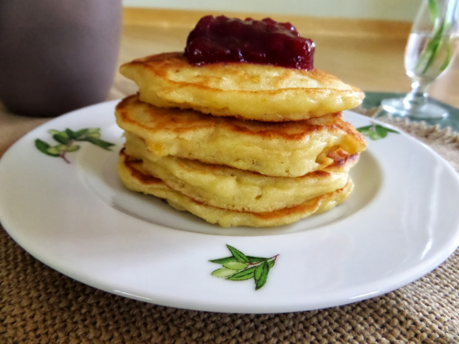 Foodie: in Minnesota: Sweet Corn Pancakes