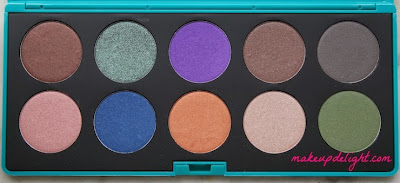 colori palette makeup delight