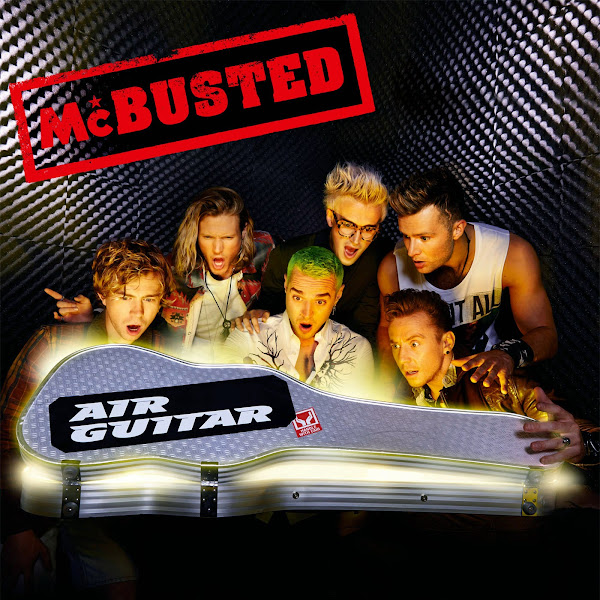 McBusted - Air Guitar - Single Cover