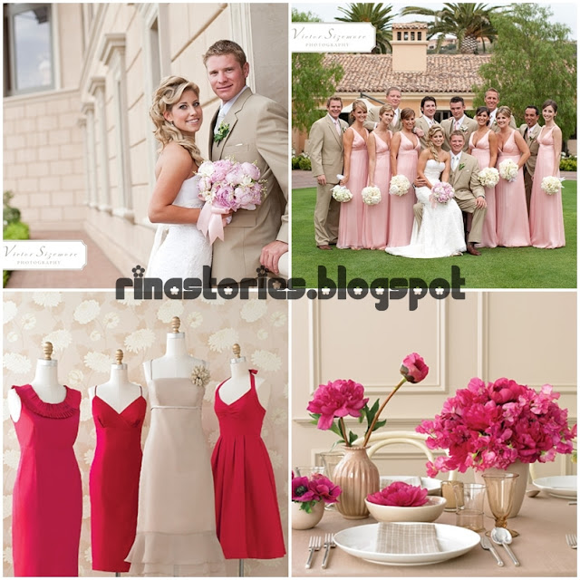 pink, theme, wedding, gold, taupe, olive, aqua, sweet, love, cute, dress, bride
