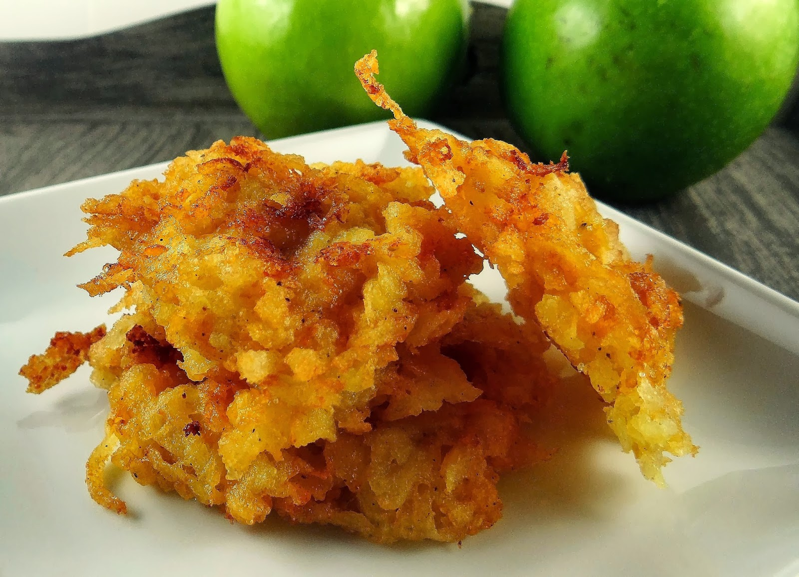 Being A Bear: Bear Essentials: Apples( + Apple-Cheddar Latkes )