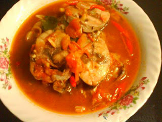 Resep sup  ikan kakap merah