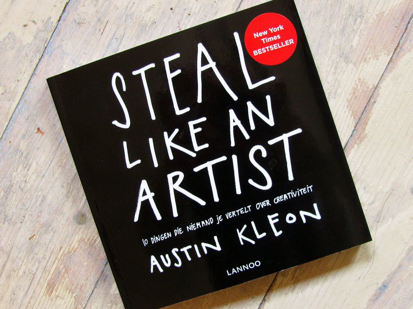 Steal like an artist, by Austin Kleon
