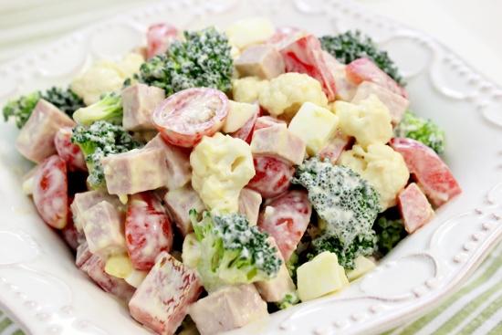 брокали салаты рецепты с фото