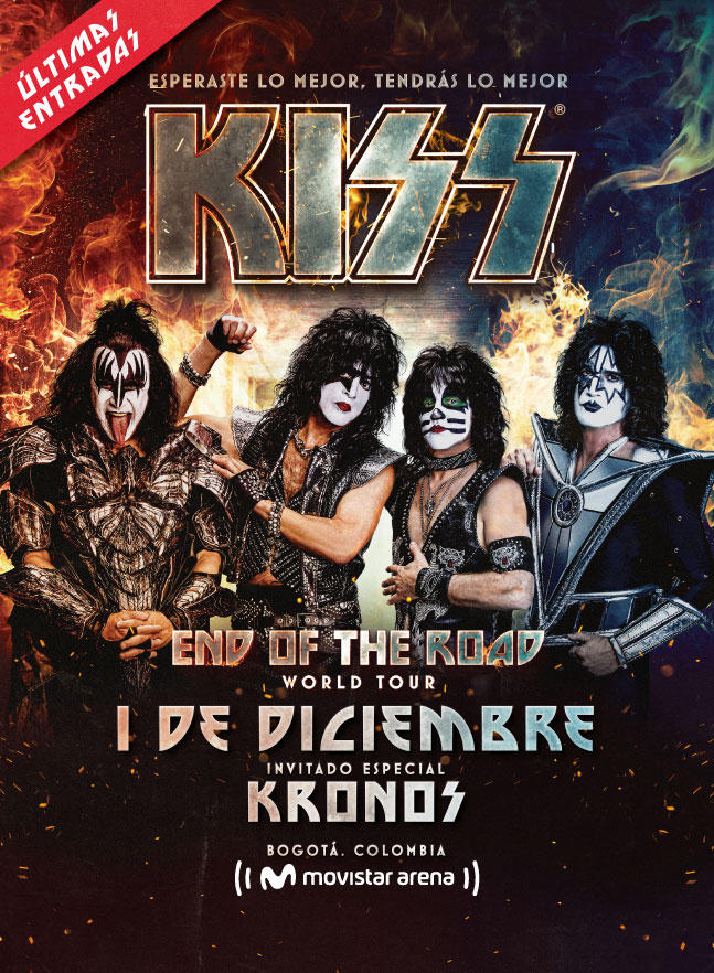 Kiss en Colombia - Diciembre 01 2020