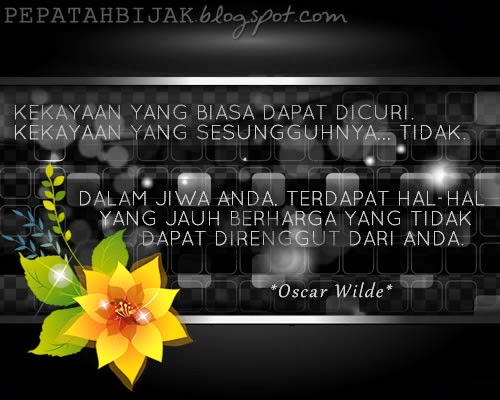 Kata Kata Inspiratif Oscar Wilde