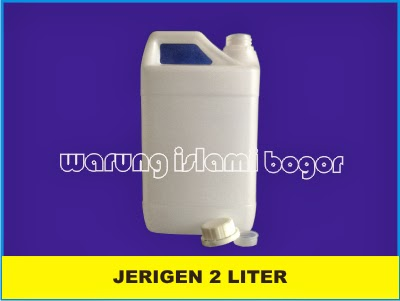 Jual Jerigen Plastik 2 Liter