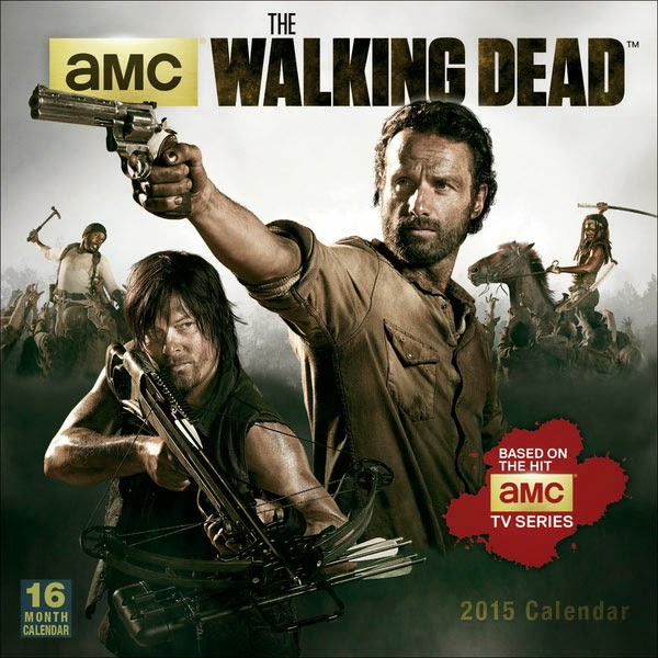 Calendario 2015 The Walking Dead