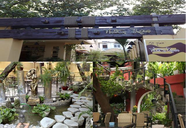 Cafe Thềm Xưa - Những quán cafe sân vườn đẹp tại Sài Gòn