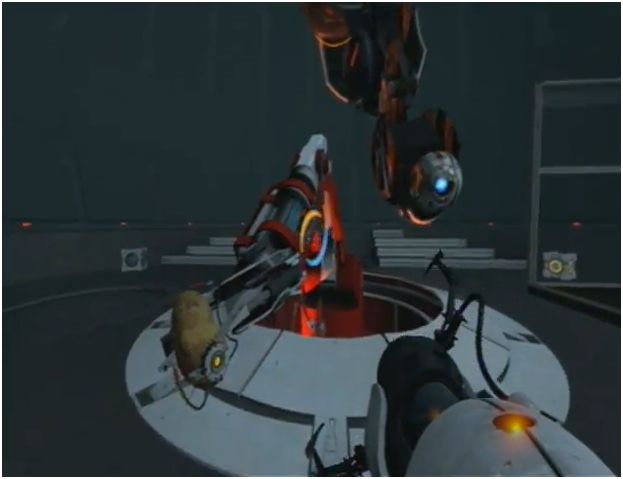 portal 2 glados as potato. portal 2 chell potato.