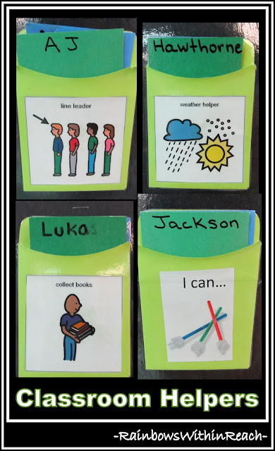 photo of: Classroom Helper Jobs with Pictures for Job Assignments