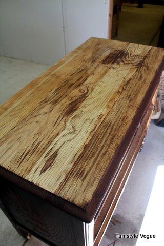 remove wood veneer