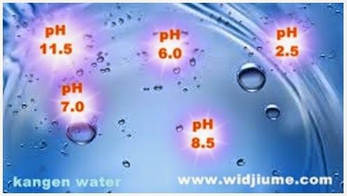 Manfaat Kangen Water Dalam Setiap pH
