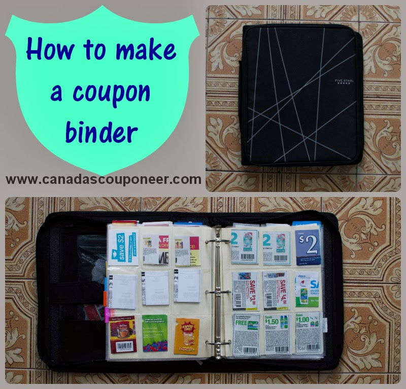 How to make a super easy to use coupon binder