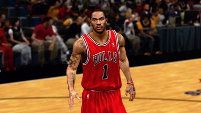 NBA 2K13 Derrick Rose Cyberface Mod