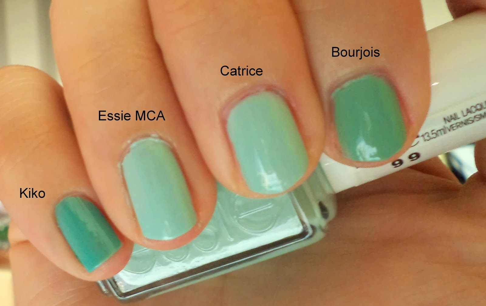 Battle Of The Mint/Blue-Green Polishes | Truth About Cosmetics
