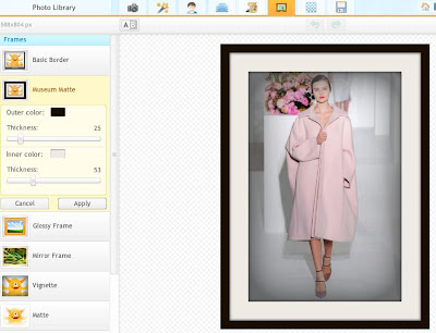 Photo edits allow you to add frames, create collages and add textured backgrounds to your photos